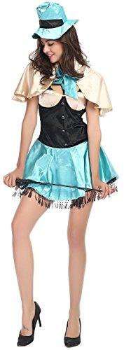 Fedo Design Circus Female Magician Role Play Halloween Costume (Circus Magician Costumes)