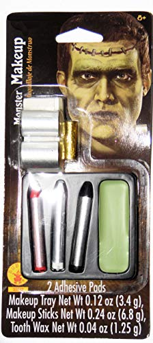 Frankenstein Monster Halloween Makeup kit, Halloween Costume, Scary,