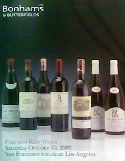 Fine and Rare Wines (October 10, 2009) ()