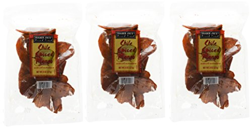 Trader Joe's Dried Chile Spiced Mango (Spiced Mango, 3 packages)