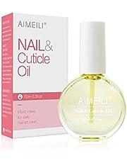 AIMEILI Natural Nail & Cuticle Oil, Cuticle Skin Care Nail Moisturizer 15ml