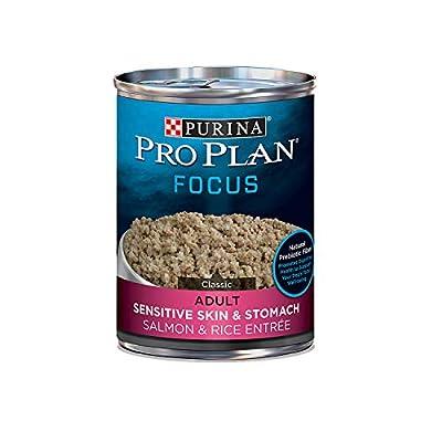 Purina Pro Plan FOCUS Sensitive Skin & Stomach Adult Dry Dog Food & Wet Dog Food