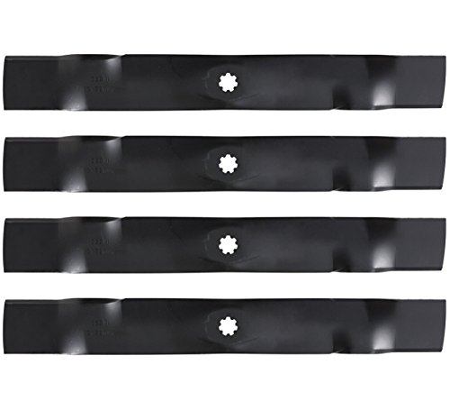 4PK Lawn Mower Blades for 42