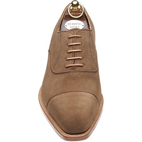 Herring 137106684 Cordones Para Suede Zapatos Hombre Ante De Tabacco Marrón q6CqP