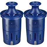 Longlast Pitcher and Dispenser Replacement Water Filters, 4 Count, Blue