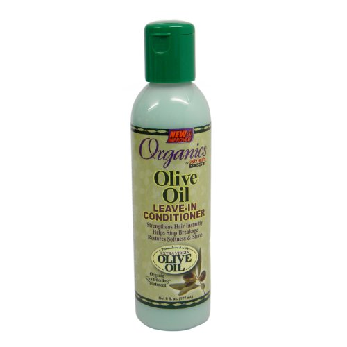 Africas Best Conditioner Originals Olive Oil Leave-In 6 Ounce (177ml) (Best Olive Africas Oil)