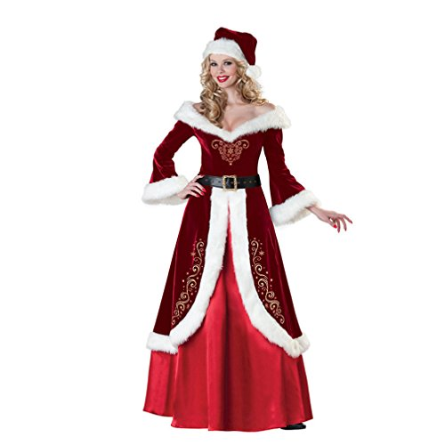Hot Sale Christmas Women Costumes Sets Red Princess Dress Cosplay Costumes Christmas Dress - Red Hood Cosplay Costume For Sale