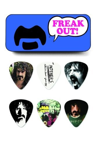 Frank Zappa Blue Guitar Picks