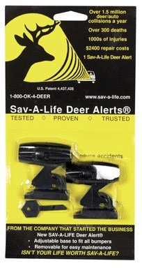 DEER ALERT DAAB Deer Warning Device 30 Day 2 in. X 2 in