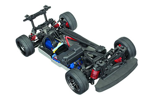 - Traxxas Automobile Electric AWD Remote Control Brushless 4-Tec 2.0 VXL Race Car Chassis with TQi 2.4GHz radio and TSM, Size 1/10