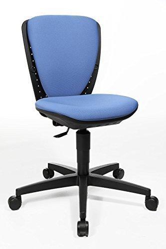 Coole Bürostühle topstar kinder drehstuhl bürostuhl sitness s cool blau 3 d