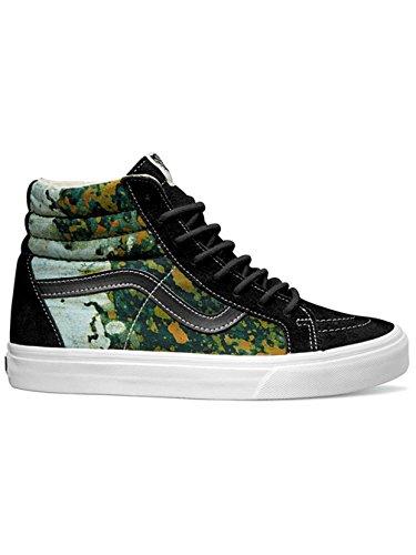 Vans Mens Sk8-hi Riedizione (della) Batik / Scarpe Da Skateboard Nere