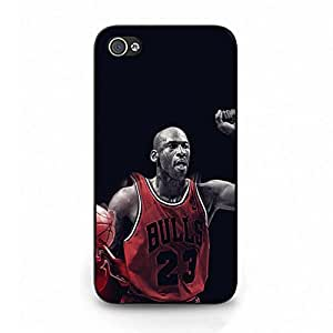 Case For Iphone 4 4s Basketball Club Player Kobe Bryant Pattern Design Phone Case Cover New Style Black Hard Case