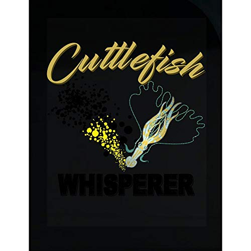 Funny Cuttlefish - Fish Whisperer - Abalone Chiton Whelk Limpet Humor - Transparent Sticker