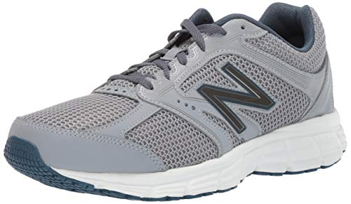 - New Balance Men's 460v2 Cushioning Running Shoe,  steel/north sea, 8 W US