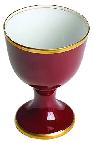 Fitz and Floyd - Renaissance Cinnabar - Goblet-Water ()