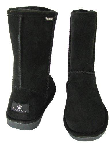 BEARPAW Women's Black Short Emma Boot wA6xn6qP