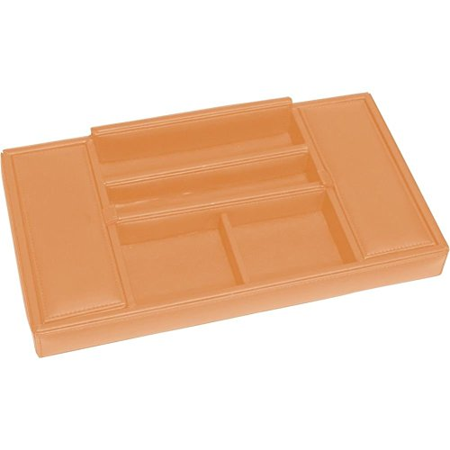 RYC125TAN11 - Royce Leather Men's Valet Tray by Royce Leather