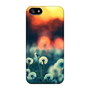 New Sunset Field Wallpaper Tpu Case Cover, Anti-scratch Rmcase Phone Case For Iphone 5/5s