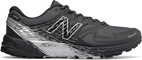 New Balance Men's SKOM-Summit King of Mountain V1 Trail Running Shoe, Black/Grey, 9.5 2E US