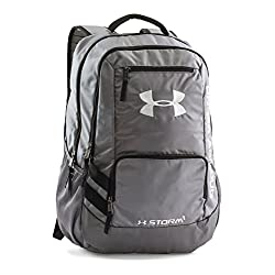 Under Armour Hustle II Backpack, Graphite, One Size