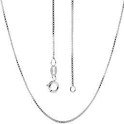 Italian Sterling Silver Box Chain 14\