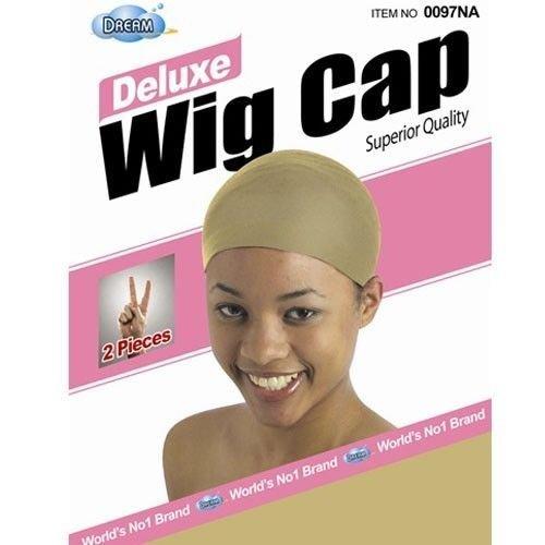 DREAM Deluxe Wig Cap Natural 24 pc (Model: 097NA), Spandex cap, Wig cap, Mesh cap, Snood, Hair net, Fish net by Dream
