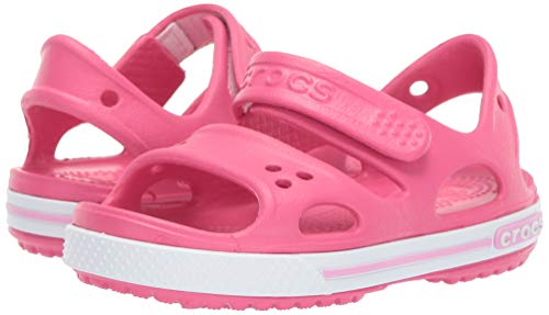 Crocs Kid's Boys and Girls Crocband II Sandal | Pre School, Paradise Pink/Carnation 6 M US Toddler by Crocs (Image #6)