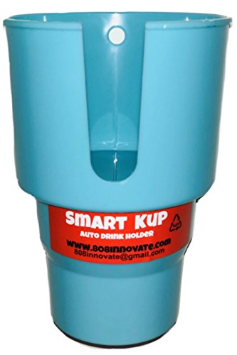SMART KUP Car Cup Holder for Hydro Flasks 32 oz and 40 oz, Nalgene 32 oz and Other Large Bottles up to 3.8 inches Wide. 3 inch Upper Cup Will Hold Your Items Unlike The competitors.Mint