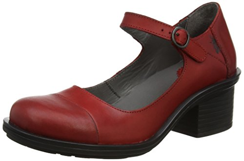 Fly London Cody877fly, Scarpe col Tacco Punta Chiusa Donna Rosso (Red)