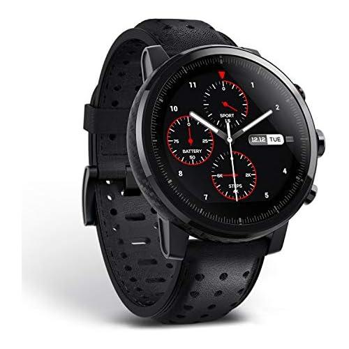 chollos oferta descuentos barato Amazfit Stratos 2s reloj inteligente premium multideporte con GPS impermeable Fitness actividad Tracker Hearth Rate Podómetro para iOS y Android dispositivo seguimiento 12 diferentes modos