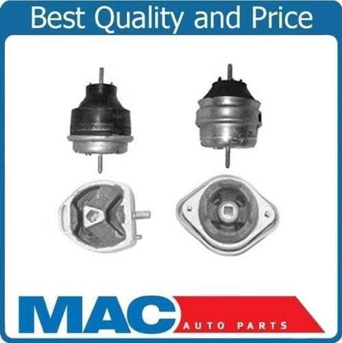 Mac Auto Parts 124800 Audi A4//A4 Quattro 1.8L TURBO 4 Pc Motor Mount /& Transmission Mount Kit