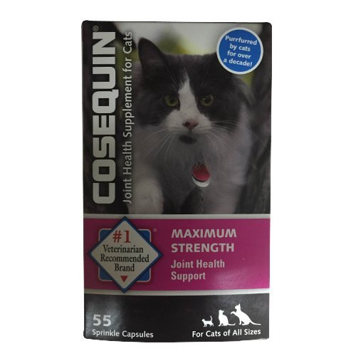Cosequin Maximum Strength Joint Health Support for cats 55 Capsules