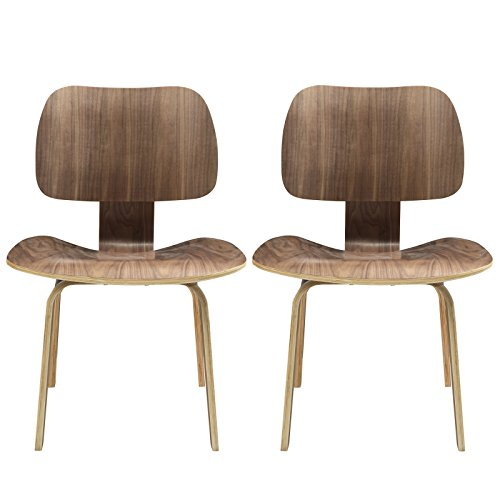 Modway Fathom Mid-Century Modern Molded Plywood Two for sale  Delivered anywhere in USA