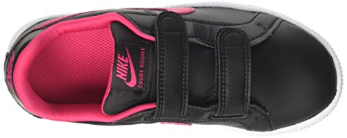 Nike Court Royale Gpv, Zapatillas Para Niñas Negro (Black / Rush Pink /  White)