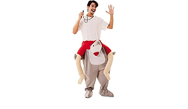 EUROCARNAVALES Disfraz de Socorrista a Hombros de Tiburón para ...