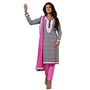 Shilp-Kala Blended Cotton Printed Black Colored Salwar suits SKHCSFLSK9016