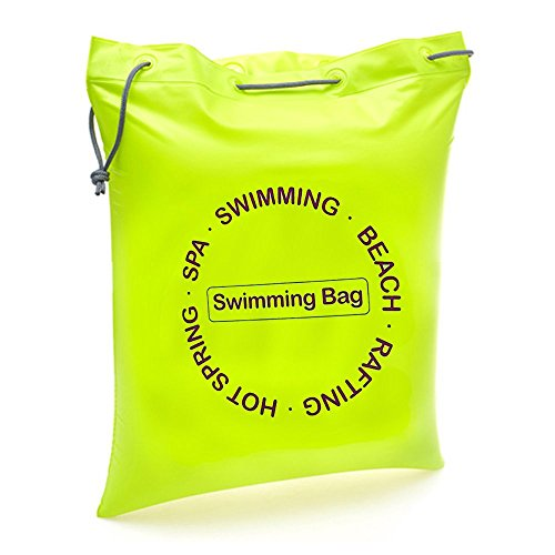 dooolo Beach Air Bag for Kids&Adults,Swim Bag Multi-purpose Waterproof Dry Bag Carry Bag,Inflatable,Ultralight Air Pillow Seat Cushion for Beach Swimming Hiking Camping Traveling(Green, Large)