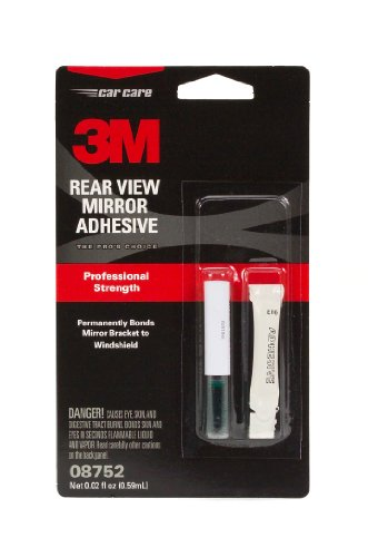 (3M 08752 Rearview Mirror Adhesive - 0.02 fl. oz.)