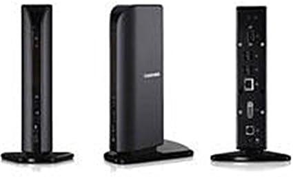 7.1 Ch audio via S//PDIF Front USB ports 1x Serial Toshiba Dynadock Universal USB Docking Station 6x USB 1x DVI