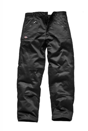 dickies-mens-action-knee-pad-cargo-workwear-trousers-38w-x-30-short-black