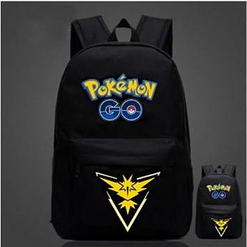 Negro Pokemon Go equipo valor Mystic Instinct mochila, Black instinct,: Amazon.es: Deportes y aire libre