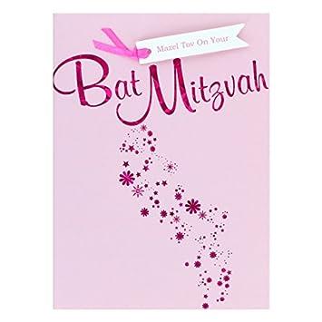 Bat mitzvah greetings card jewish greeting card with envelope bat mitzvah greetings card jewish greeting card with envelope hebrew english m4hsunfo