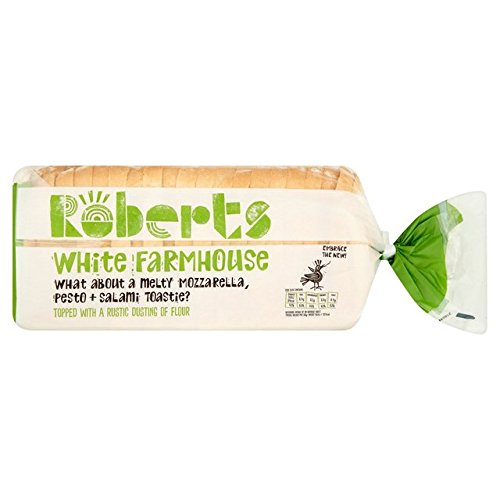 Roberts Bakery Farmhouse White Thick Sliced Bread 800g x 1 Expires Jan 31st 2019 Delivers 3-5 Days USA