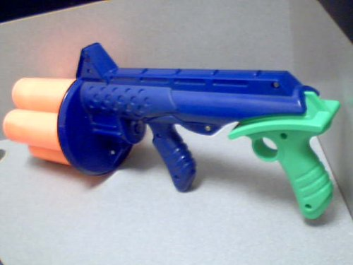 1994 Kenner, A Division Of Tonka Corporation Tonka Kenner Nerf Ballzooka Ball Blaster (Requires Golf Size Foam Nerf Balls to work properly)(Green/Violet Purple/Orange Color)
