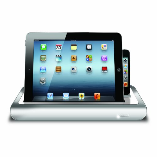 iSound Power View Pro S Charge and View Dock with 2 Apple 30 Pin Charge for iPad 1 2 & 3, all iPhones (except for iPhone 5 and above) , all iPod touches and more (white) by iSound (Image #2)