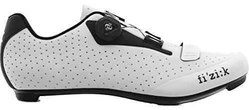 Fizik R5B Uomo Boa Cycling Shoe - Men's White/Black, 46.0
