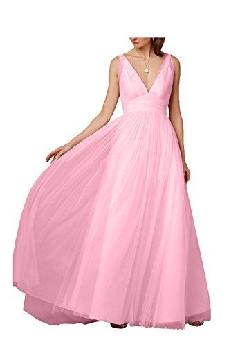 Perlenrosa mujer para Vestido trapecio Missdressy nBWp7n