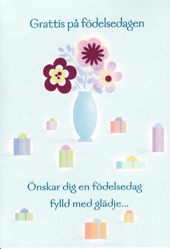 Amazon Greeting Cards Birthday Swedish Happy Birthday