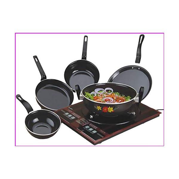 Nonstick Bottom Cookware Set-Kitchentop
